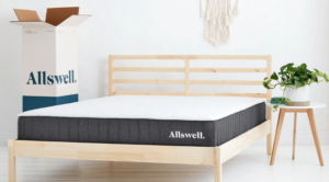 Allswell mattress for a guest bedroom