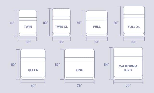 Mattress-Sizes-Dimensions