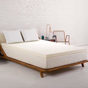 Sleep Joy 3″ ViscO2 Ventilated Memory Foam Mattress Topper