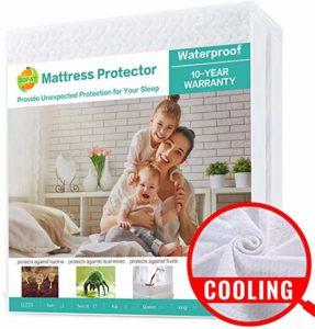 Sopat Waterproof Mattress Pad Cover