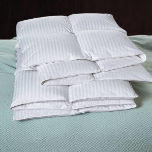 Cuddledown Damask Stripe Synthetic Fill Comforter